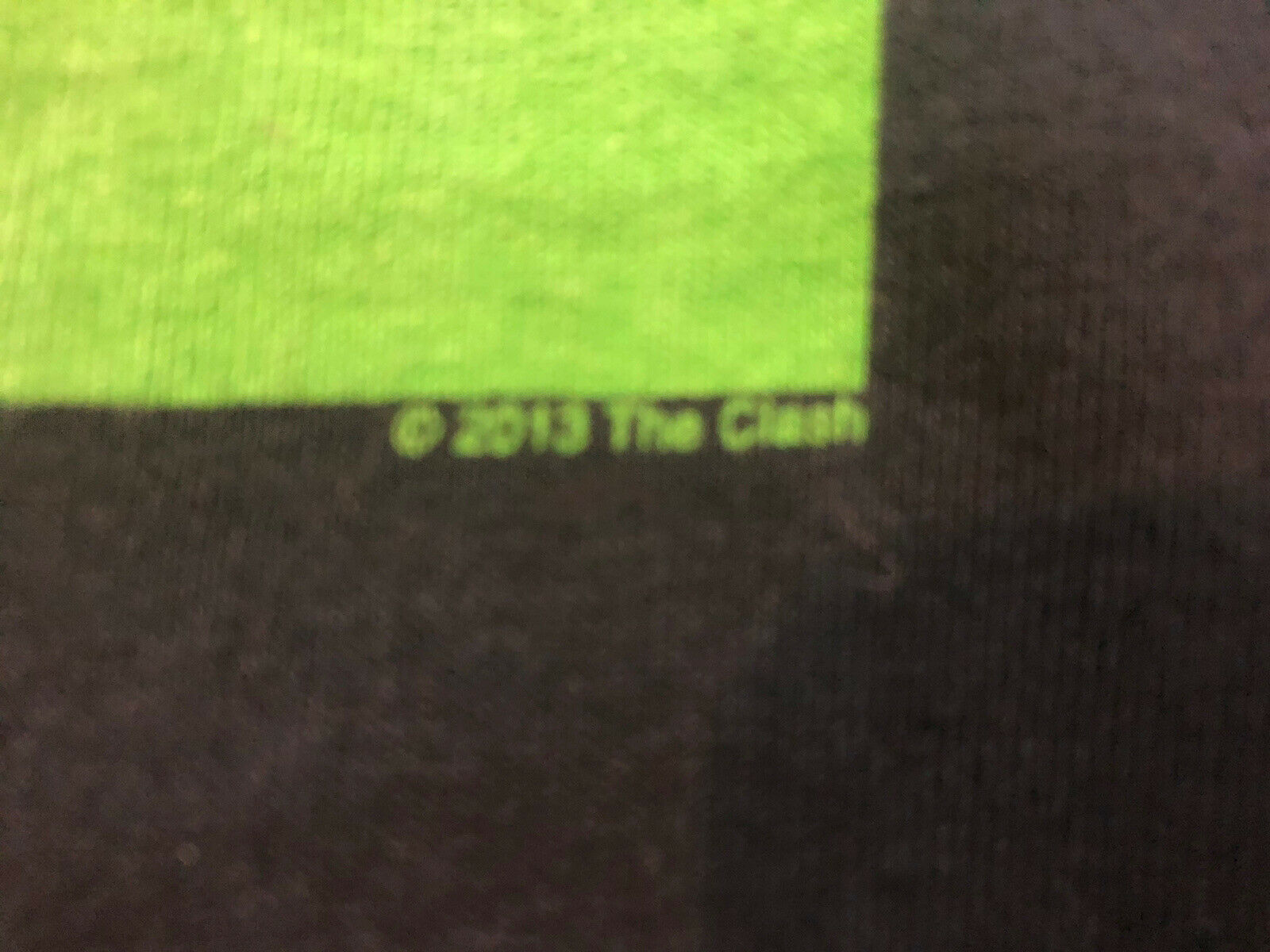 The Clash Concert Tour Rock Band T Shirt Black 20… - image 3