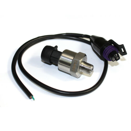 0-100psi 5V Engine Pressure transducer sensor w//ceramic chip For Oil Fuel Water