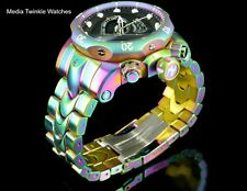 NEW Invicta 52MM Reserve VENOM IRIDESCENT Black Dial Quartz Chronograph Watch