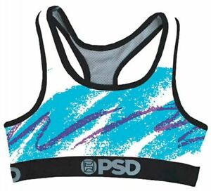 7352135a40f35 PSD Underwear Womens 90 s Cup - Sports Bra Moisture Wicking FREE ...