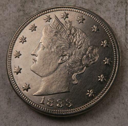 1883 *no cent* Liberty V Nickel //// Choice-Gem BU //// 1 Coin 1