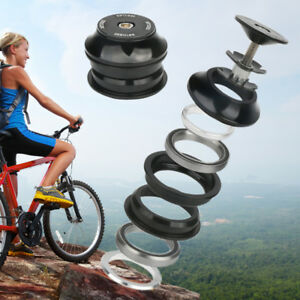 Bicycle-Bike-Head-Tube-Double-Palin-Bearing-Headset-fit-28-6mm-1-1-8-034-Fork-Stem