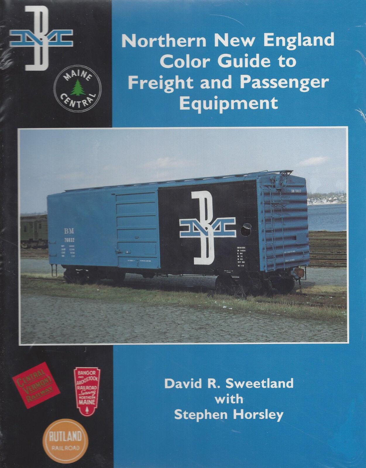 Nord Nuovo England Colore Guida a Freight & Passeggeri Accessori 1950-1970, Nuovo