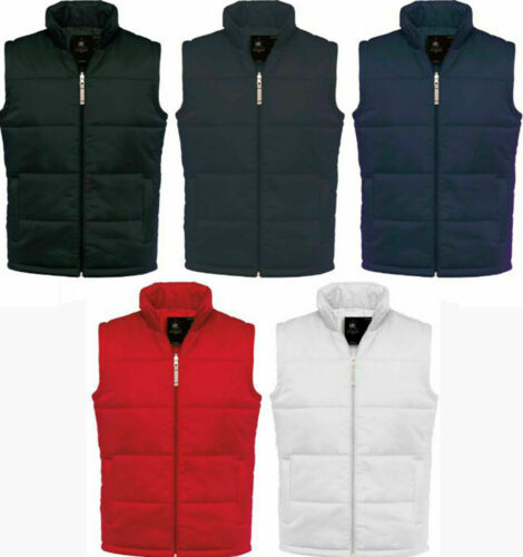 B/&C Men/'s Bodywarmer Front Zip Vest Top waterproof Vest Windbreaker Size S-3XL
