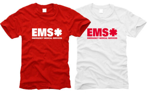 Taille S à XXL EMS Emergency Services-Messieurs-T-shirt