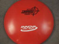NEW 175 RED / WHITE & BLACK STAR TEEBIRD INNOVA DISC GOLF