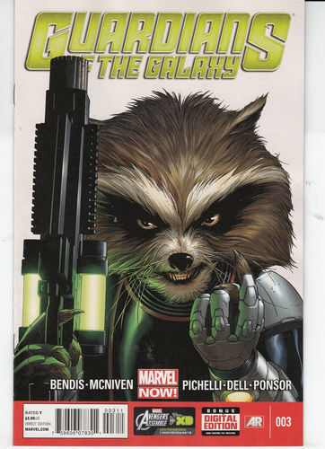 GUARDIANS OF THE GALAXY #3  N/M 1ST PRINT  MARVEL NOW