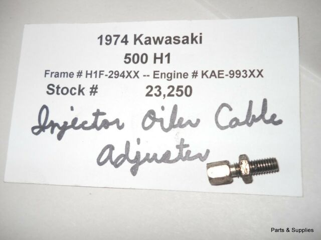 1974 Kawasaki 500 H1 Engine Oil Injection Cable Adjuster