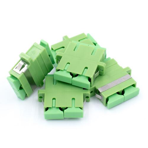 SC to SC Adapter Single Mode APC Duplex 5 Pack Beyondtech Fiber Optic Couplers