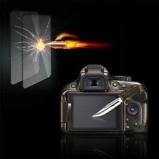 Tempered Glass Film Camera LCD Screen Protector Guard for Nikon D5100/5200 Z@