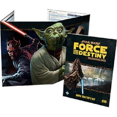 Affidabile Star Wars Gioco Di Ruolo - Force E Destiny Gm Kit Essere Romanzo Nel Design