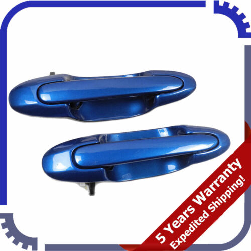 For 2000-06 Mazda MPV Rear Pair Outer Outside Door Handle Starry Blue 24A DS380