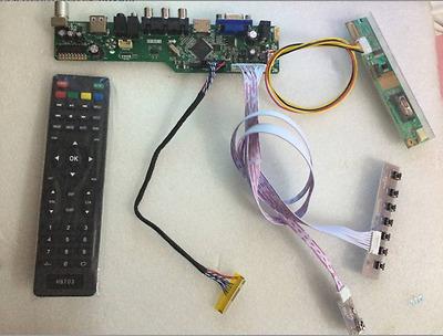 For LP154W01-TLA2 LCD LED controller Driver Board TV+HDMI+VGA+CVBS+USB T.VST56