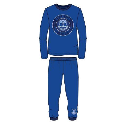 Boys Children/'s Everton Pyjamas Nightwear Long Sleeve PJs 4 to 12 years Cotton