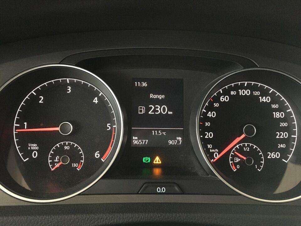VW Golf VII 1,6 TDi 105 Comfortline BMT Diesel modelår 2013