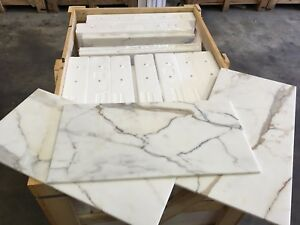 Image Is Loading Marble Tiles Italian Calacatta Gold Select