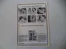 advertising Pubblicità 1967 FRIGORIFERO NAONIS MOD. 250 LITRI
