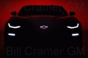 2016 2017 Chevrolet Camaro Oem Illuminated Front Grille