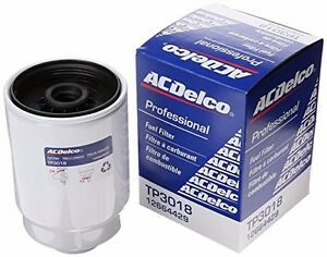 S L on Acdelco Duramax Fuel Filter