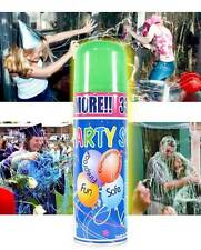 silly party string crazy prank  spray (24 large cans) streamer fun for parties