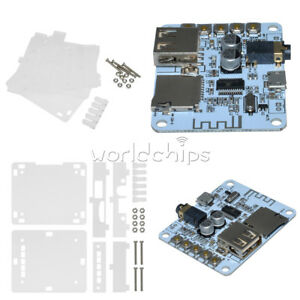 DC 5V Micro USB TF Card Audio Receiver Board Amplifier Bluetooth Decode Player