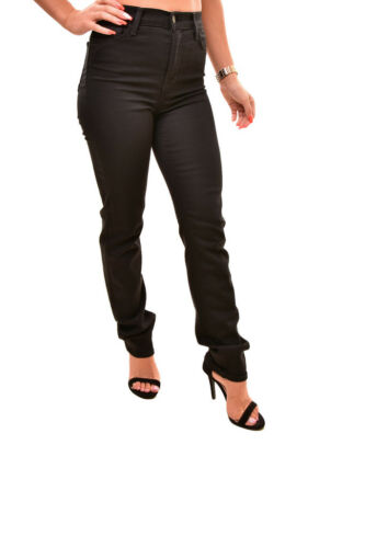 Rrp Straight Bcf88 Femmes Taille Jeans Brand 25 198 23104o294 Maria J Noir qzSwUtUP