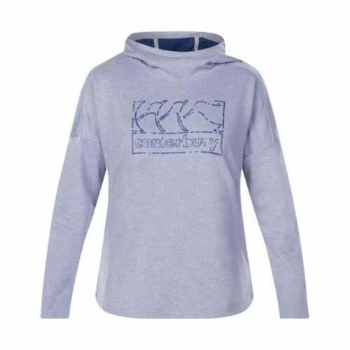 Canterbury Da Donna vapodri Felpa con cappuccio in pile con cappuccio Taglia 10 12 14 16 Lavanda Nebbia £ 45