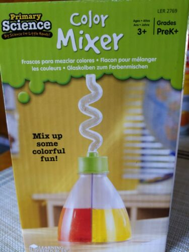 Learning Resources Color Mixer New Science Fun Experiment