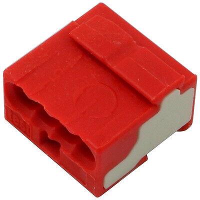 10 WAGO 243-144 Dosenklemme 100V 4-polig MICRO Verbindungsdosenklemme 857081