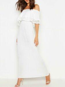 BOOHOO-Tall-Bandot-Trim-Detail-White-Maxi-Dress-BOO18