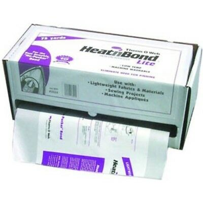 "HeatnBond Ultrahold Iron-On Adhesive-White 17/""X75yd 3504"