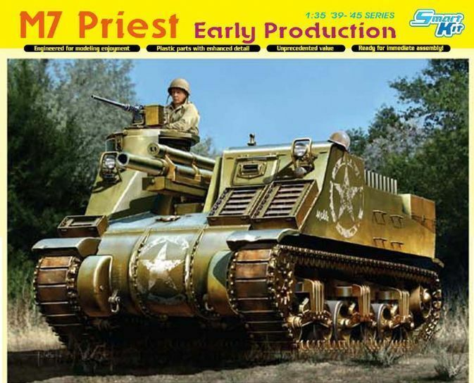 DRAGON 6627 1 35 M7 Priest Early Production - Smart Kit
