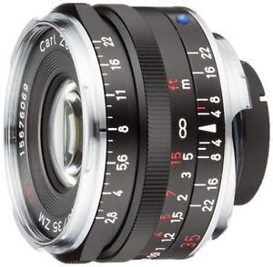 Carl-Zeiss-C-Biogon-T-35mm-f2-8-ZM-Mount-Lens-BLACK-Made-in-Japan-EMS-W-T