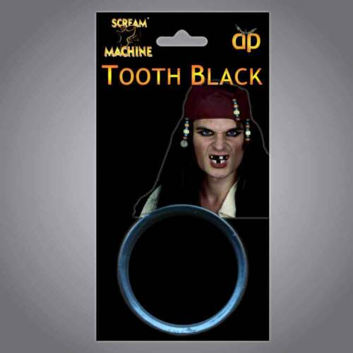 Adulto Unisex Halloween Dente Nero Make Up GAP riempimento CERA Dress Party Accessorio