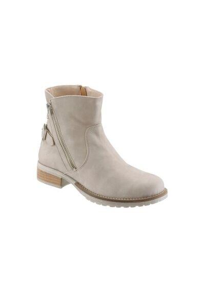JJ Footwear Boots aus weichem Nubukleder, Gr.36,38,39,40,42,43, grau, neu