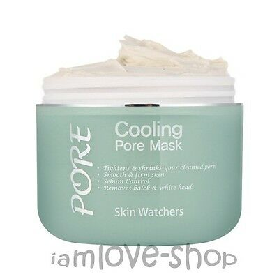 [Skin Watchers] Cooling Pore Mask 100ml tightening pores clay pack