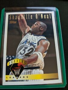 1995-96-Topps-Scoring-Leaders-Insert-Shaquille-Shaq-O-039-Neal-Orlando-Magic-32