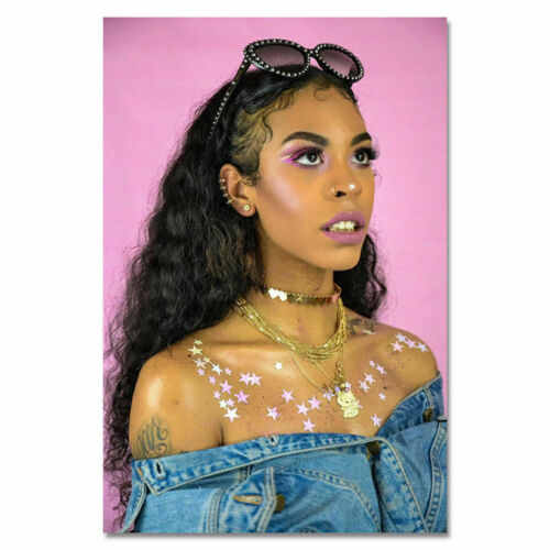 W829 Rico Nasty Hip Hop Rap Rapper Star Singer Star Poster Silk Art