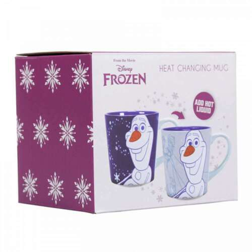 OFFICIAL DISNEY FROZEN OLAF HEAT CHANGING MAGIC COFFEE MUG CUP NEW IN GIFT BOX