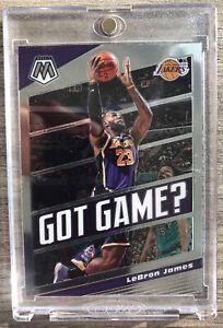 2019-20-Panini-Mosaic-LeBron-James-Got-Game-Los-Angels-Lakers