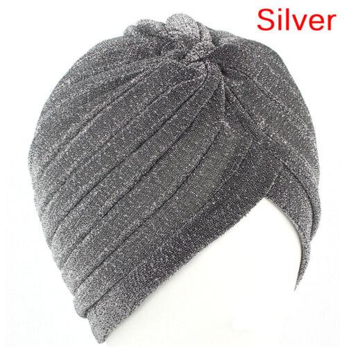 Mode Männer Frauen Dehnbar Weichen Indischen Stil Turban Hut Kopf Wickelband FBB