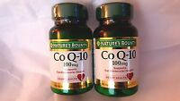 2 Bottles Coq-10 100mg 45 Softgels By Natures Bounty Coq10 Factory Sealed