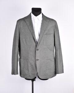 Sartore-Luxure-Uomo-Blazer-Giacca-Taglia-60-per-EU50-UK40