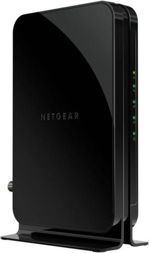Black NETGEAR 16 x 4 DOCSIS 3.0 Cable Modem
