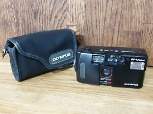 Olympus-AF-10-Super-35mm-Point-and-Shoot-Camera-With-Case-VG-Condition