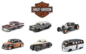 Maisto-Harley-Davidson-1-64-aduanas-Cars-Diecast-Coche-de-Juguete-Muchos-Modelos