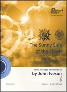 Brillant The Sunny Side Of The Street Trombone Treble Clef Music Book With Piano Accomp-afficher Le Titre D'origine