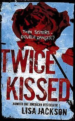 """""""VERY GOOD"""" Jackson, Lisa, Twice Kissed, Book"""