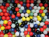 Marbles Bulk Lot 2 Pounds 9/16 Solid Colored Marble King Marbles Free Shipping