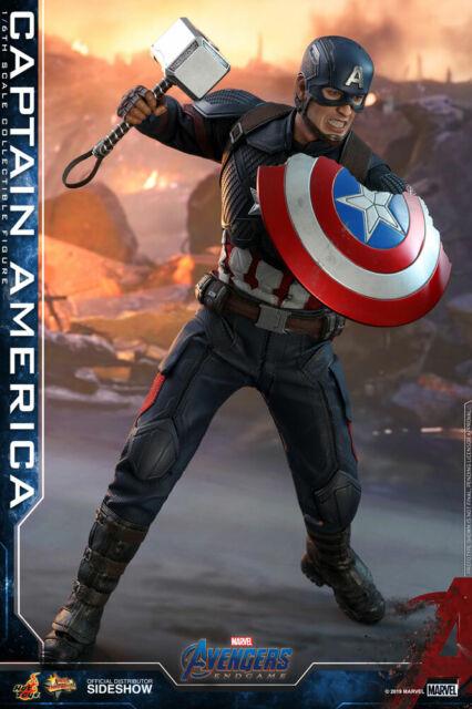 Hot Toys MMS536 AVENGERS ENDGAME 1/6 Captain America New - Plz Read Description